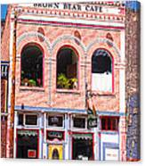 Brown Bear Cafe Silverton Colorado Canvas Print