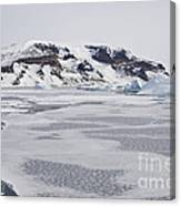 Brown Bluff, Antarctica Canvas Print