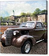 Brown Classic Collector Canvas Print