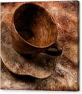 Brown Cup  Canvas Print