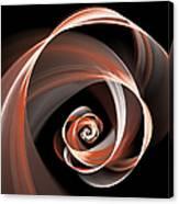 Brown Flirt Canvas Print