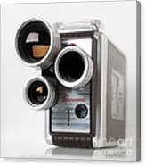 Brownie Movie Camera Canvas Print