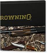 Browning Bps Shotgun  Canvas Print