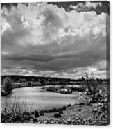 Brownsmead Panorama Canvas Print