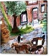 Brownstone-1800 Canvas Print