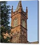 Brownstone Church Canvas Print