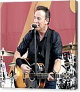 Bruce Springsteen 12 Canvas Print
