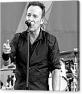 Bruce Springsteen 13 Canvas Print