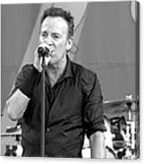 Bruce Springsteen 14 Canvas Print