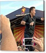 Bruce Springsteen 15 Canvas Print