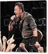 Musician Bruce Springsteen Canvas Print