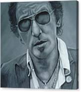 Bruce Springsteen IIi Canvas Print