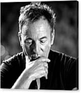 Bruce Springsteen Media Call Canvas Print