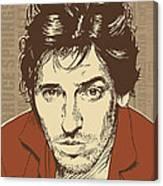 Bruce Springsteen Pop Art Canvas Print
