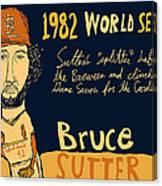 Bruce Sutter St Louis Cardinals Canvas Print