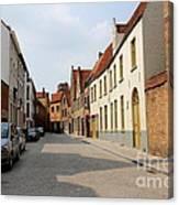 Bruges Side Street Canvas Print