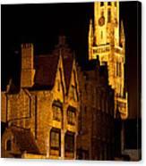 Brugge Architecture Canvas Print