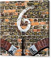 Brugge Detail Canvas Print