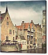 Brugge Canvas Print