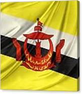 Brunei Flag Canvas Print