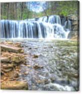 Brush Creek Falls Located In West Virginia Canvas Print