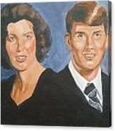 Bryan And Gina Canvas Print
