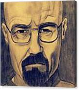 Bryan Cranston  Canvas Print