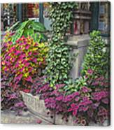 Bryant Park Grill 3 Canvas Print