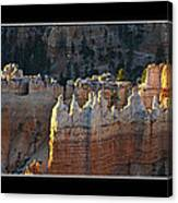 Bryce Canyon At Sunrise Canvas Print