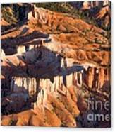 Bryce Canyon From The Air Canvas Print