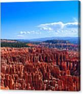 Bryce Canyon Vista Canvas Print