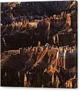 Bryce Canyon National Park Hoodo Monoliths Sunrise Southern Utah Canvas Print