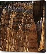 Bryce Canyon National Park Hoodo Monoliths Sunset From Sunrise P Canvas Print