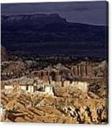 Bryce Canyon National Park Hoodo Monoliths Sunset Southern Utah  Canvas Print