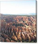 Bryce Canyon Scenic Overlook Canvas Print