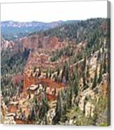 Bryce Canyon View Canvas Print