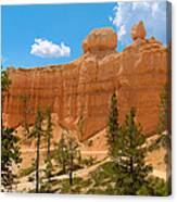 Bryce Canyon Walls Canvas Print