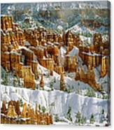 Bryce Winter Morning Canvas Print