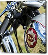 Bsa Rocket Gold Star Motorcycle Canvas Print