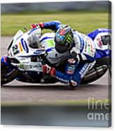 Bsb Superbike Rider John Hopkins Canvas Print