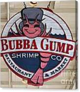 Bubba Gump Shrimp Co. Canvas Print