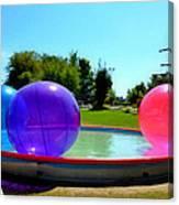 Bubble Ball 1  Canvas Print