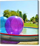 Bubble Ball 2 Canvas Print