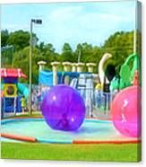 Bubble Ball 4   Canvas Print