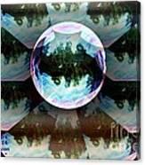 Bubble Illusion Catus 1 No 1 Canvas Print
