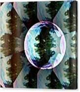 Bubble Illusion Catus 1 No 1 V Canvas Print