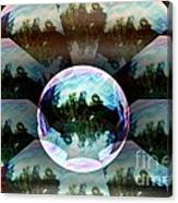Bubble Illusion Catus 1 No 2 H Canvas Print
