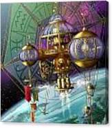 Bubble Telescope Canvas Print