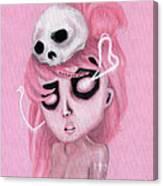 Bubblegum Pink Canvas Print