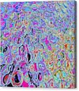 Bubbles Five Canvas Print